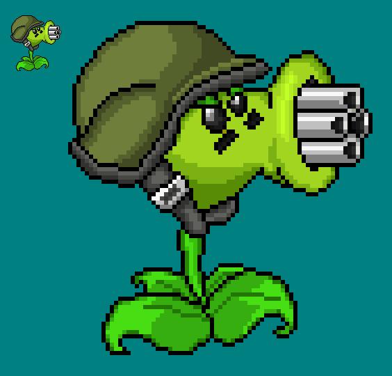 Gallery Gatling Pea Plants Vs Zombies