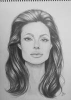 Angelina Jolie by LPVictoria