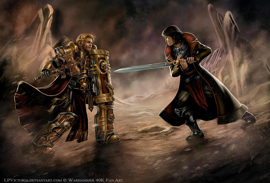 Arkham vs Darius - Commission by LPVictoria