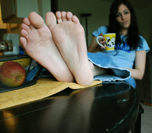 "beautiful feet photo 4x4 в""– 7870"