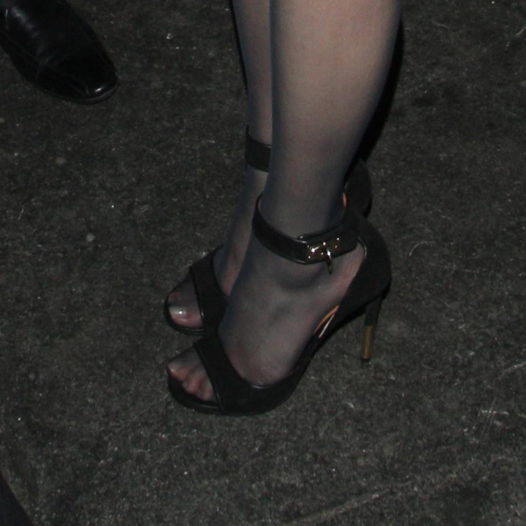 Jazzy black pantyhose - 1 5
