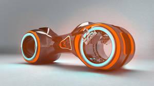 Tron cycle wip