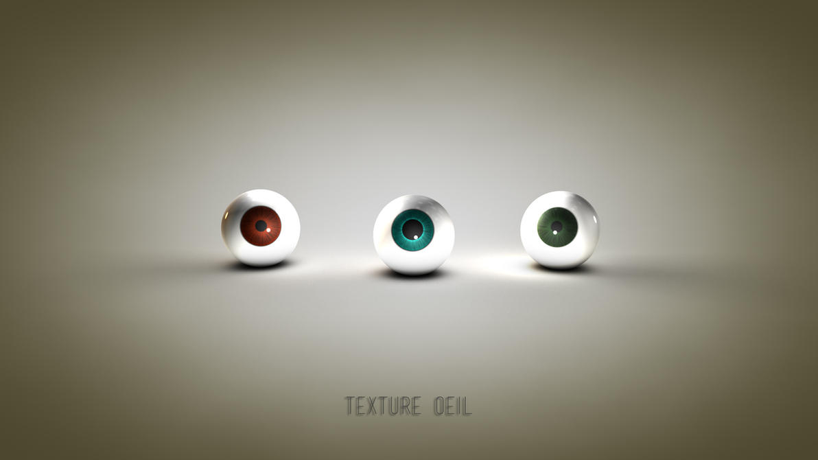 Texture oeil (Eye material c4d) by iskander71