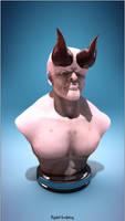 Demon sculpting by iskander71