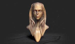 Femal head by iskander71