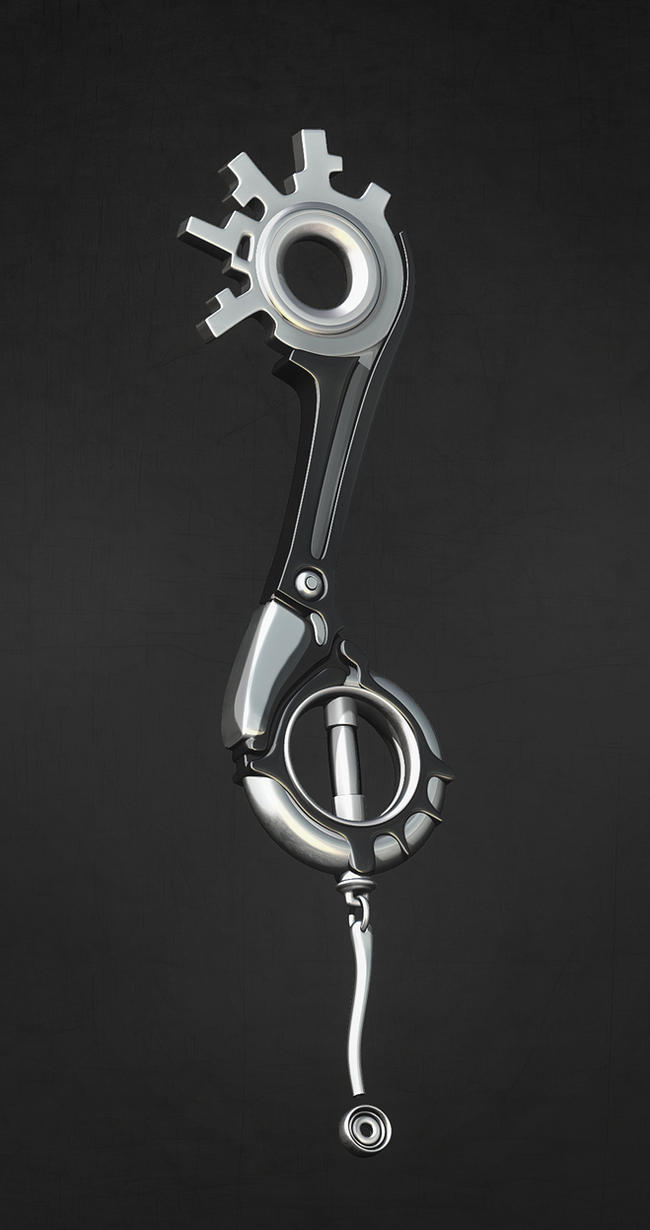 Keyblade by iskander71