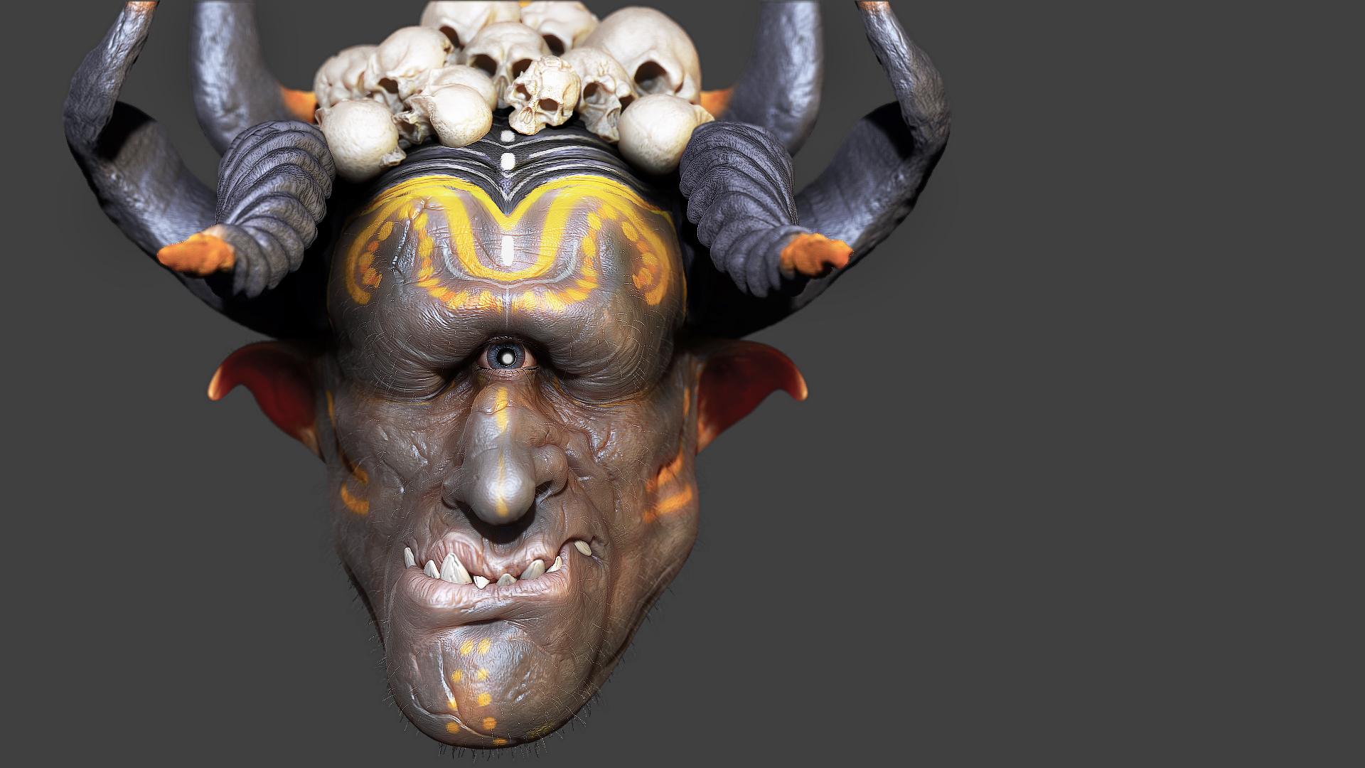 Cyclops character by iskander71