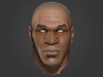 Face sculpture by iskander71