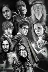 Harry Potter by JAF-Artwork