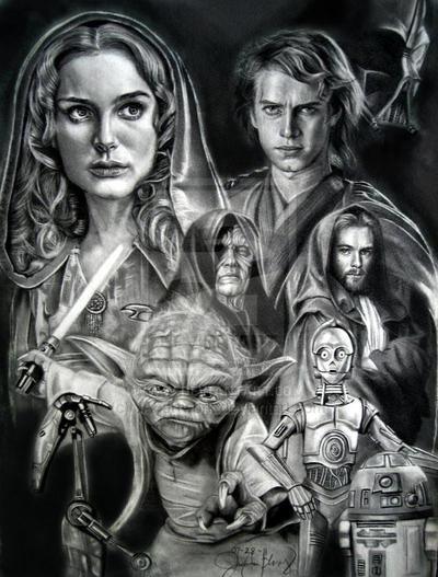 Star Wars by JAF-Artwork