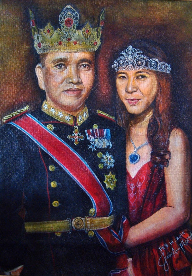 The King and Queen of my Heart by JAF-Artwork