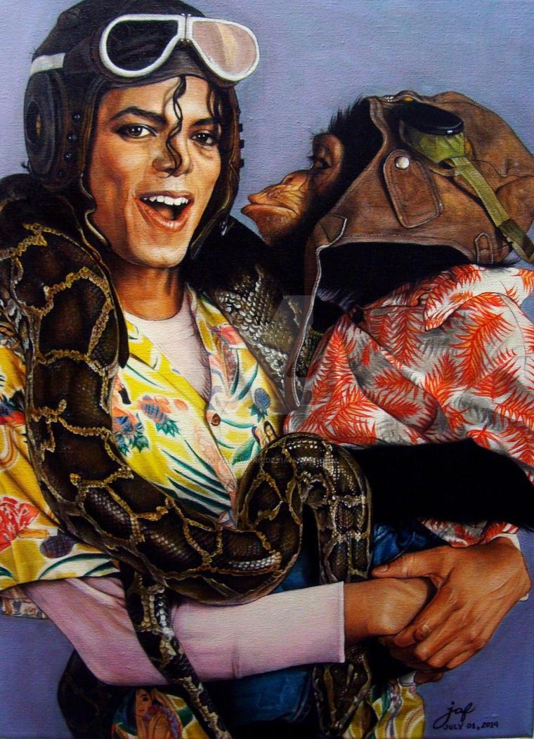 Michael Jackson Leave me alone by JAF-Artwork