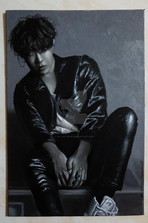 BTS Jung Hoseok Outro: Tear  by JAF-Artwork