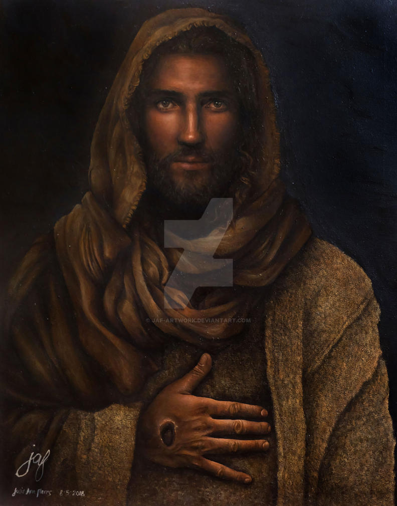 His Name Is Jesus by JAF-Artwork