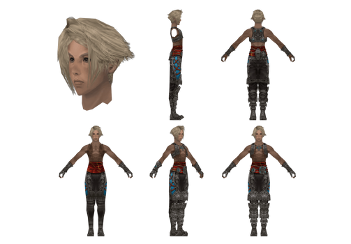 FFXII Model Reference: Vaan