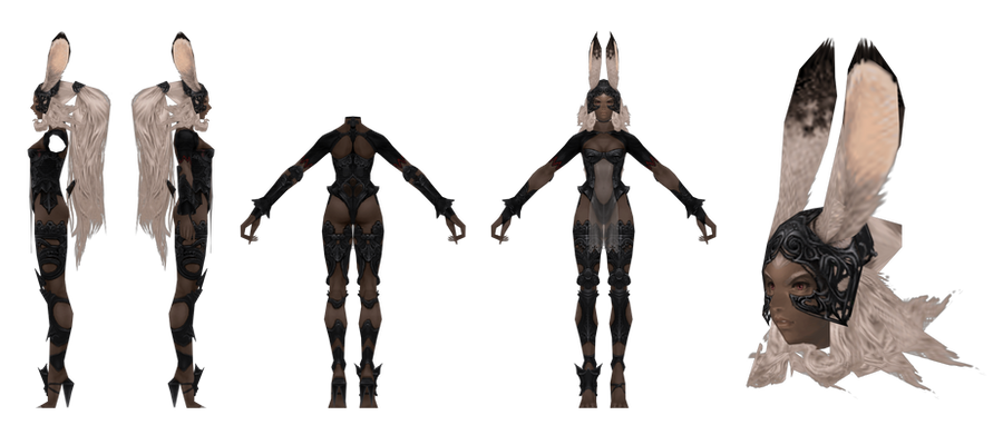 FFXII: Fran - Updated by CaptJapan