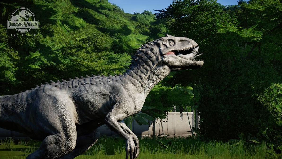 Jurassic World Evolution - Indominus Rex eats (6) by