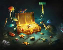 Treasure's Chest by Dani-Owergoor