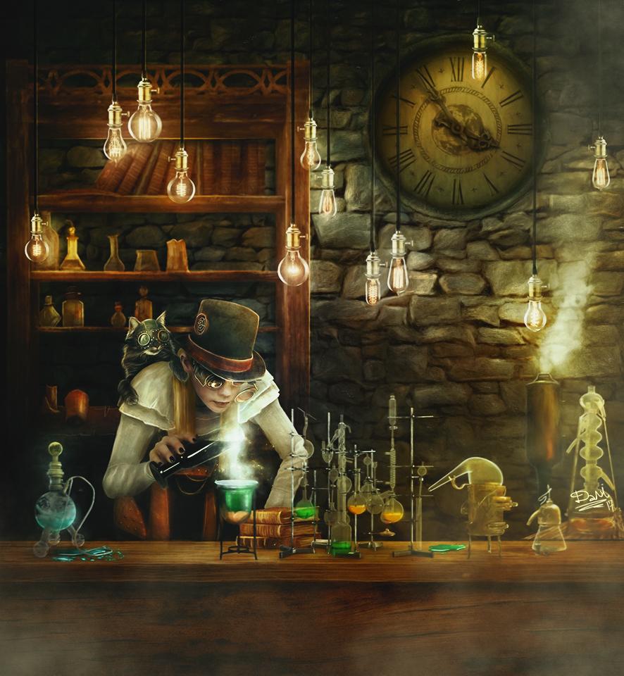 Mad Scientists by Dani-Owergoor