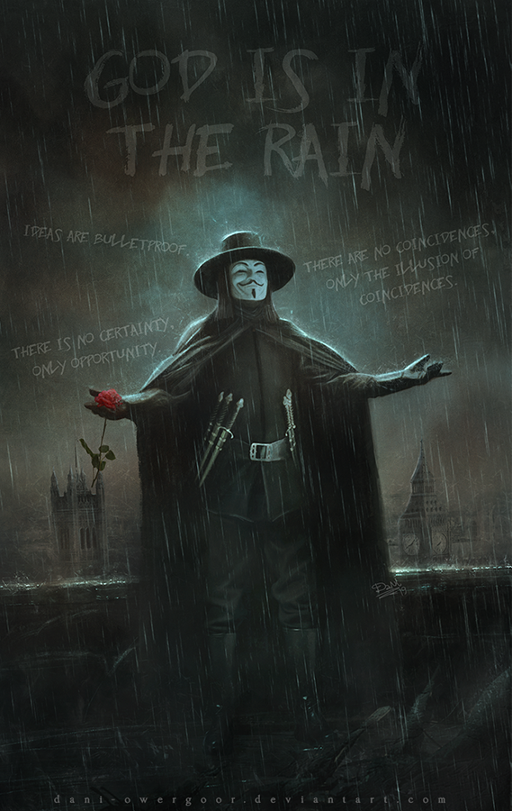 God Is In The Rain by Dani-Owergoor