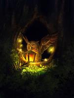 Owl by Dani-Owergoor