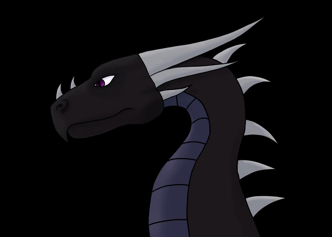 Dragon Profile by rharzar