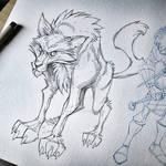 Robb Starks Dire Wolf