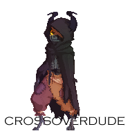 Pixelart: Corrupted DemiTale Sans by Crudaka