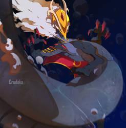 Commission: Pharragan by Crudaka