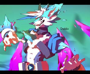 Gift: Syron Fox by Crudaka