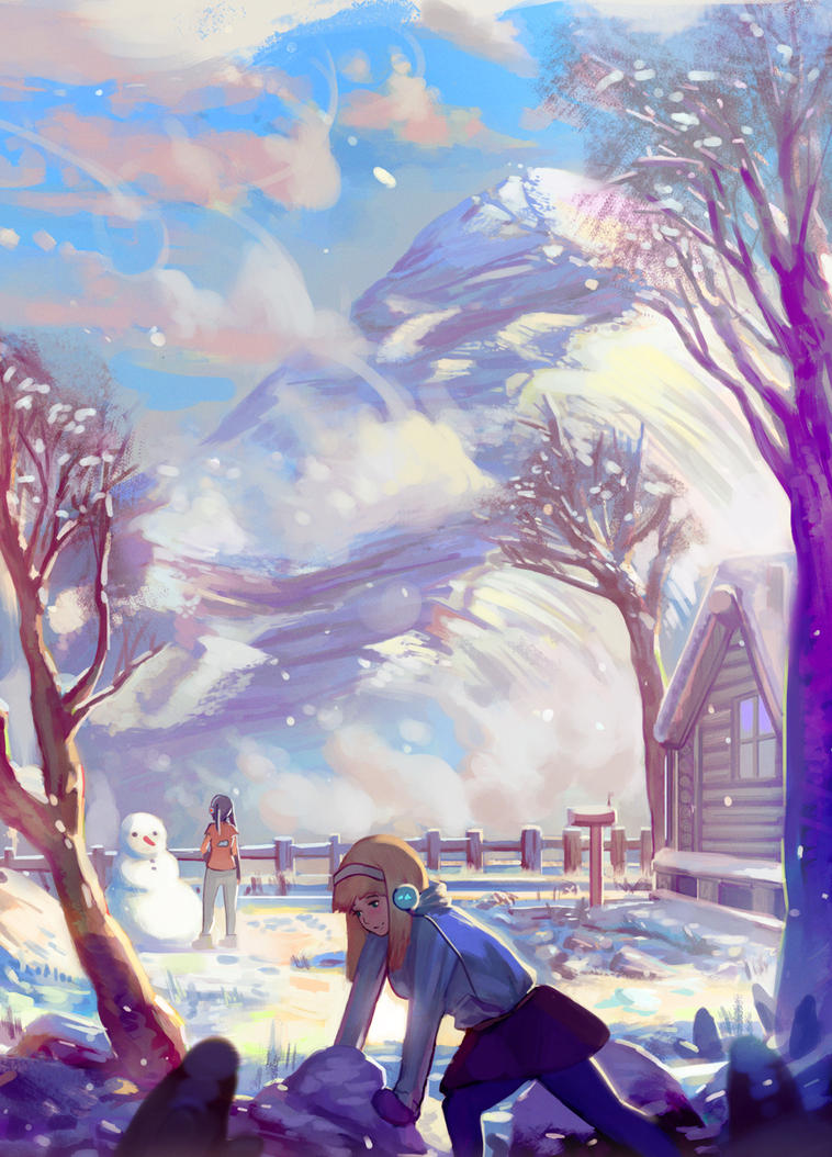 Snow Day by Klegs