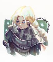 Warrior 2 by Klegs