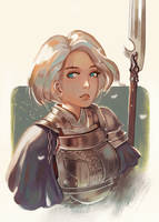 Warrior by Klegs