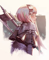 Warrior 3 by Klegs
