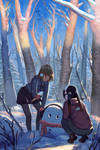 Snow Man by Klegs