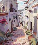 Morning Street by Klegs