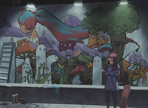 Night Mural