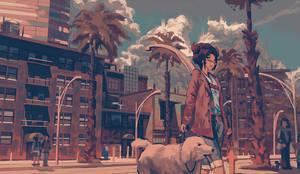 Dog Walk by Klegs