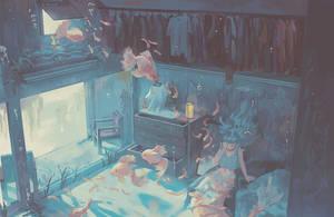 Mermaid Room by Klegs