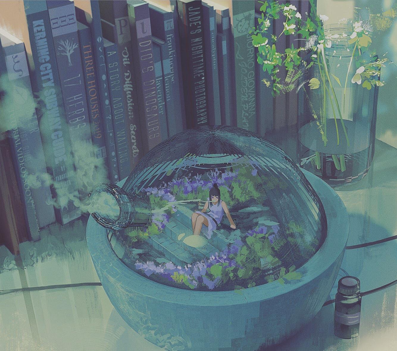 Oil Diffuser Lavender by Klegs