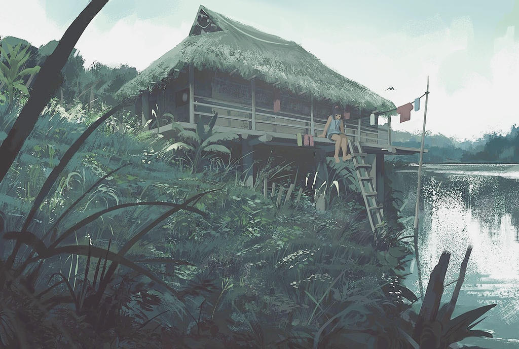 Thatch House