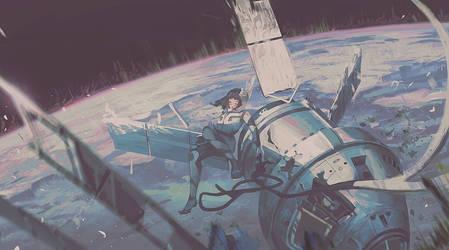 Mushroom Planet #3 by Klegs