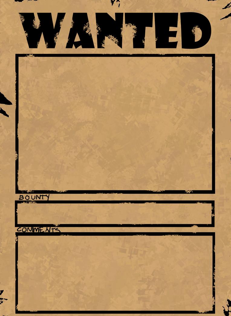 Wanted Poster MEME by jut5star on DeviantArt