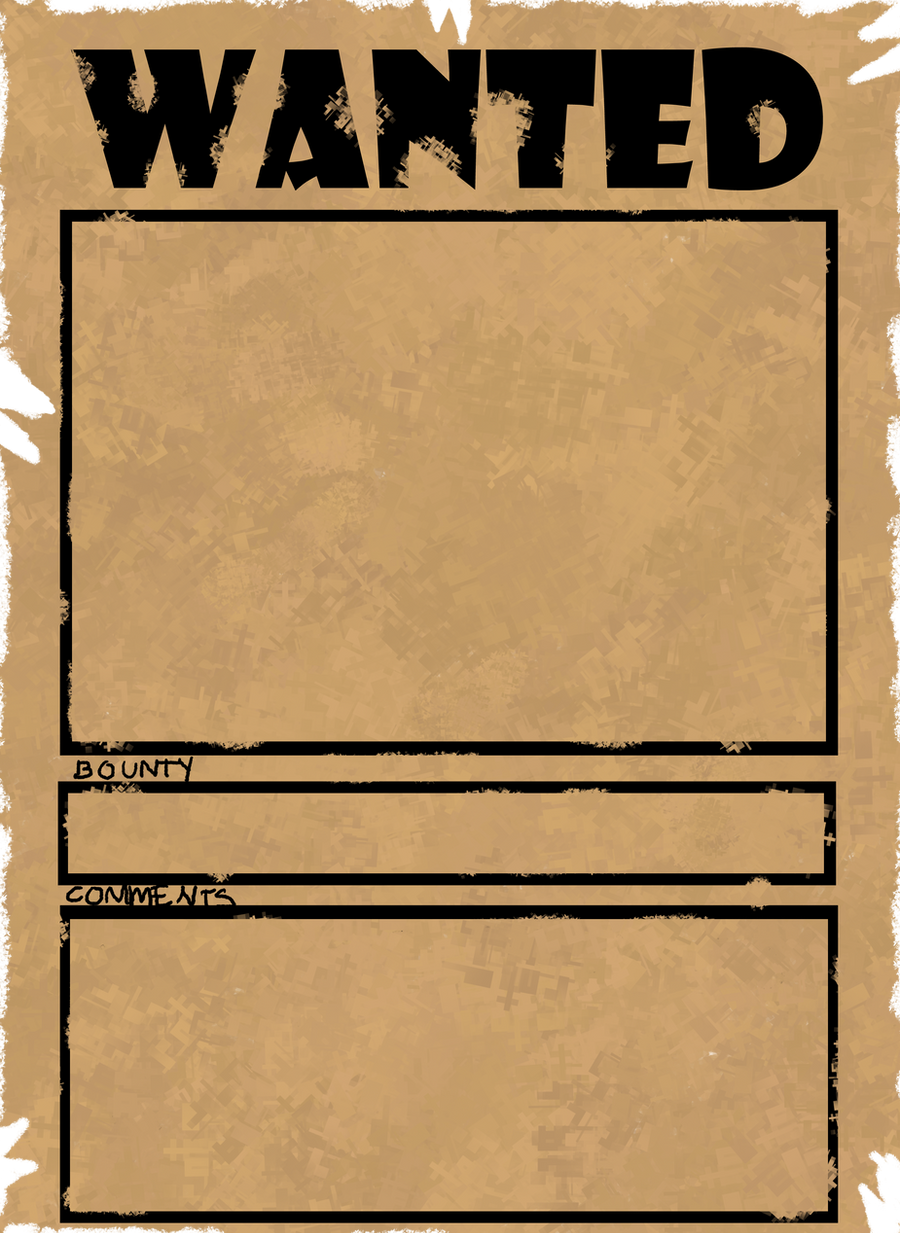 blank wanted poster template word wanted poster meme by jut5star