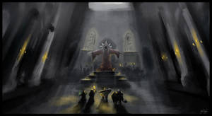 Darkest Dungeon Necromancer