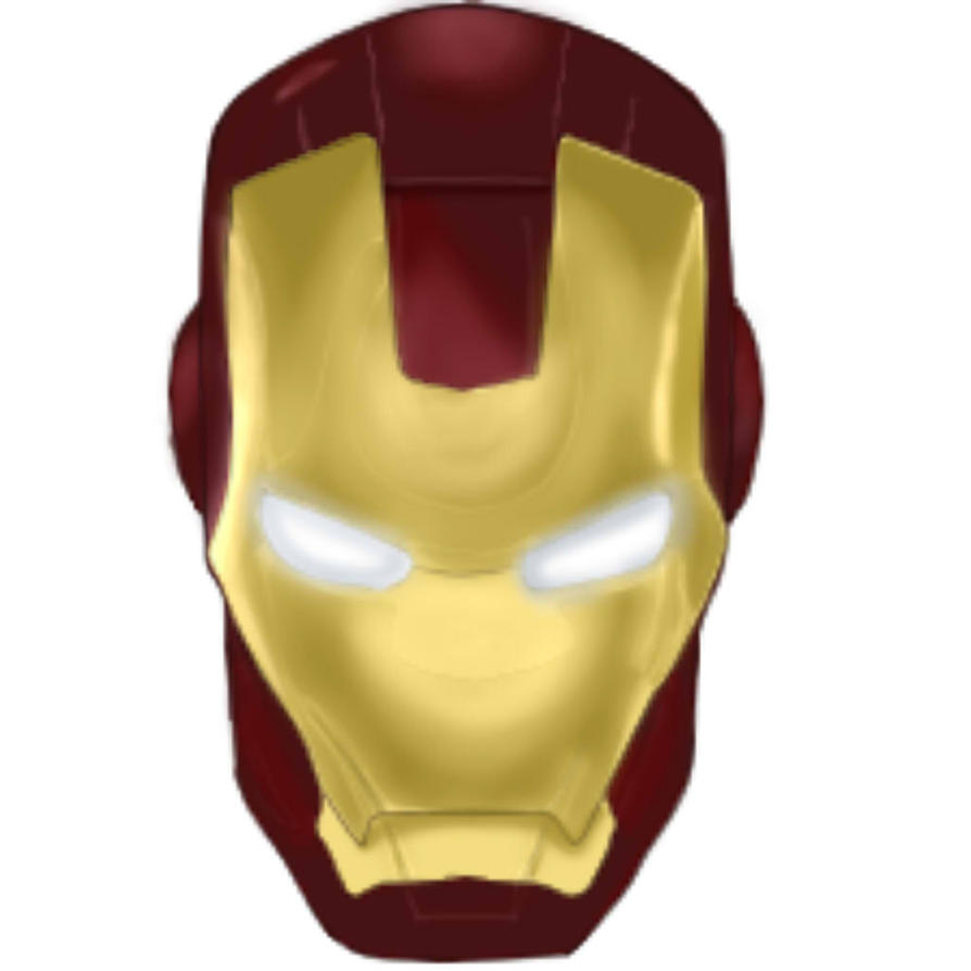 Gallery For Iron Man Face Template Iron Man Mask Coloring   My ...