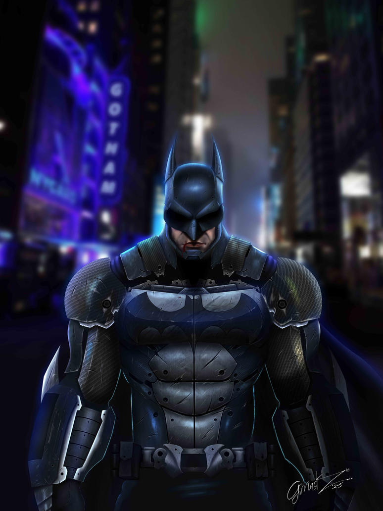 Batman Fan Art by Gartomack