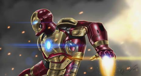Iron Man at war