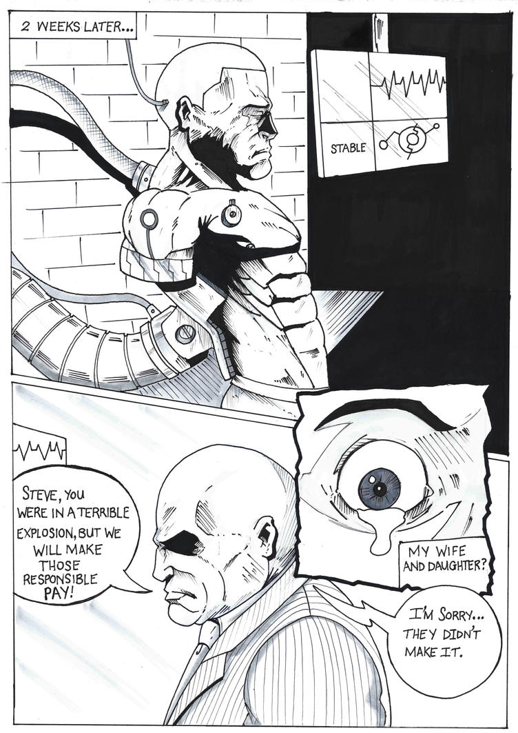 Inktober Day 3 The P.A. Page 3 by Gartomack