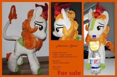 Big Autumn Blaze Plush [For Sale] by Melody-lead